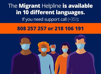 Migrant Helpline is available in different languages